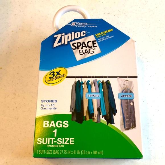 Ziplock Space Bag 1 Suit-Size